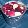 freeze-dried-rose-petals-in-silver-bucket